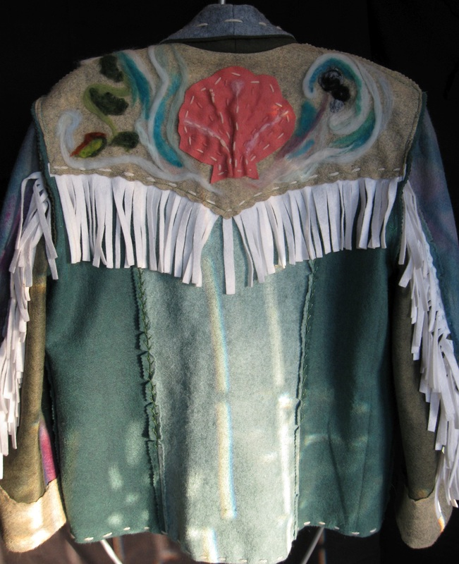 Needle Felted Cowgirl Jacket