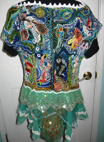 Mermaid Blouse, back