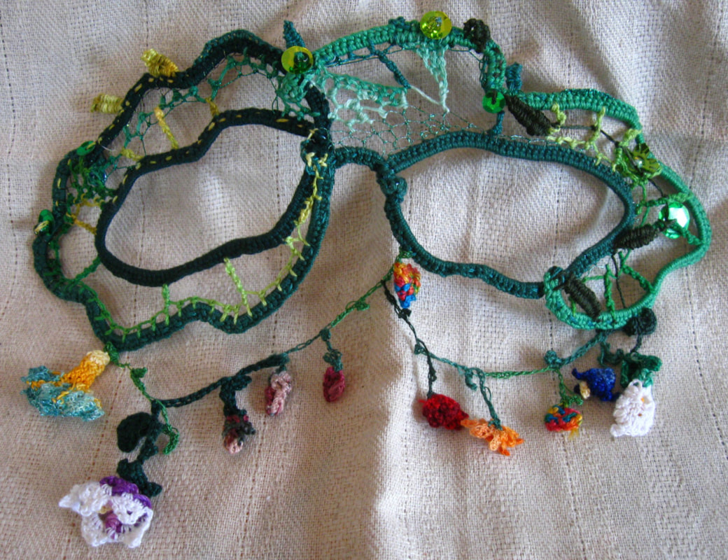 Flora Needlelace Mask
