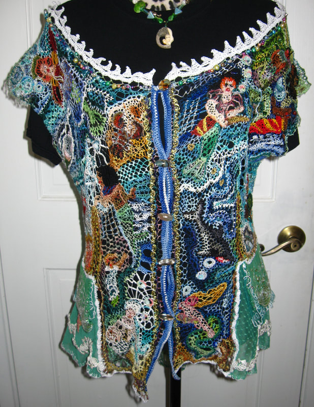 Mermaid Blouse, front